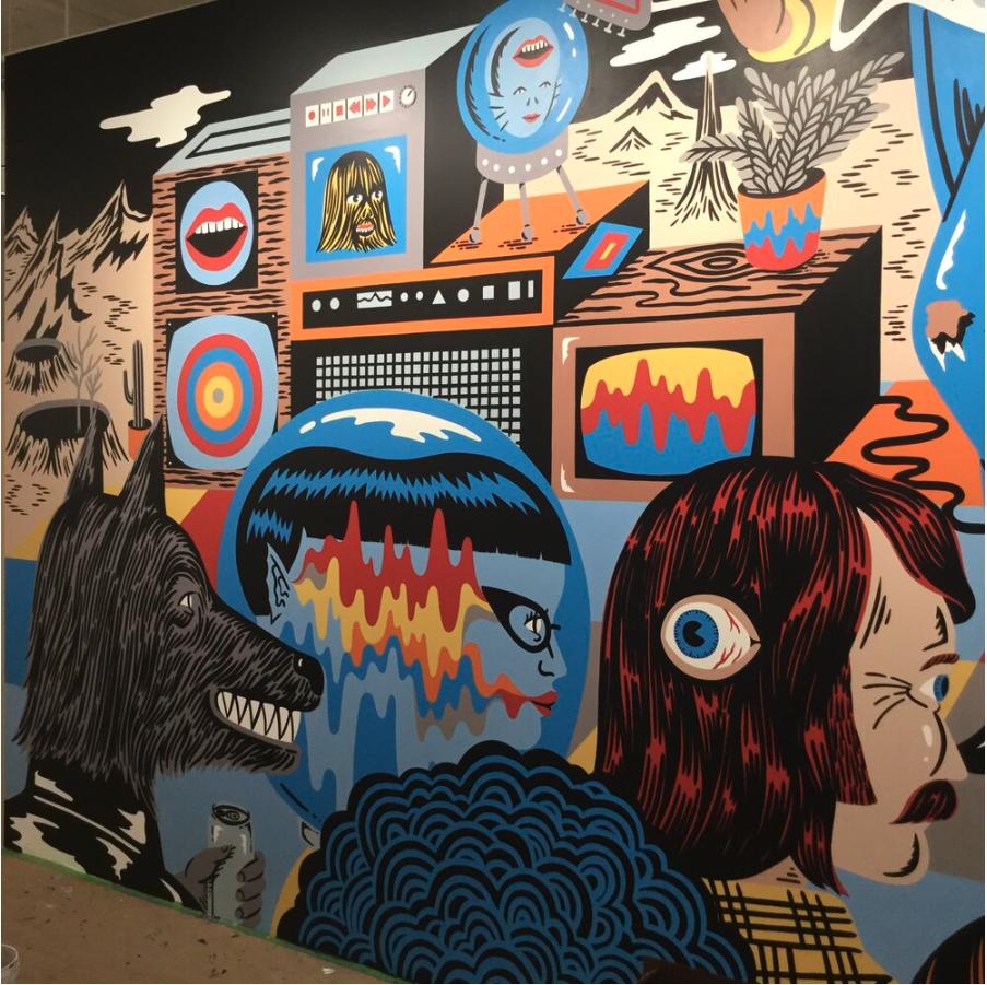 Warner Music/ Rhino Wall 3